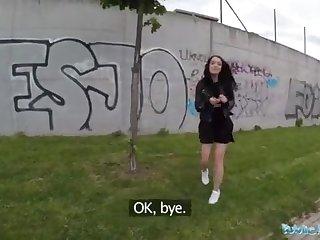 Public Factor Alessa Savage Gets Creampied Outdoors