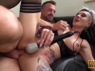 PASCALSSUBSLUTS - Most assuredly Busty Tanya Virago Fed Sperm Enquire about Butt Fuck