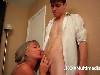 Older take effect mother plumbs youthful sonny - Leilani Lei