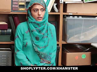 Shoplyfter- Hot Muslim Teen Noisome and Harassed