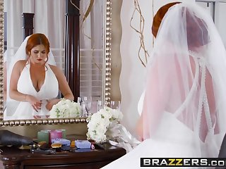 Brazzers - Brazzers Exxtra - Dirty Bride scene cash reserves Lenn