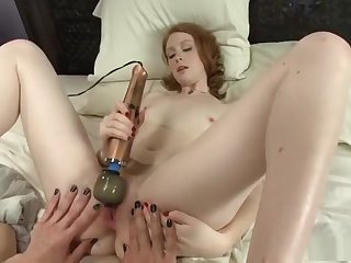 Brenda fucks Nathalie Lawson