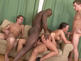 Milf deals a bunch of hot to trot dicks in merciless scenes