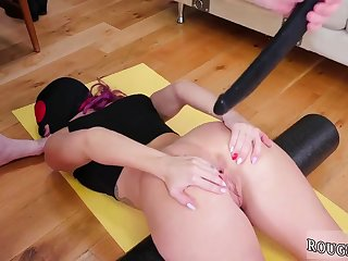 Haul over the coals creampie hd first time Ass-Slave Yoga
