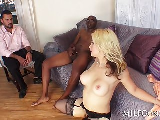 full-breasted wife pound big black penis - cuckold sex