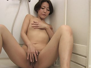Asian woman loves a act out of private time with her snatch