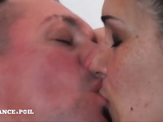 Dampen France A Poil - Fat Boobed Milf Gets Sodomized By He