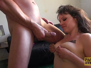 Maledom porn video with Lucy Love being a resulting fro her soft-pedal